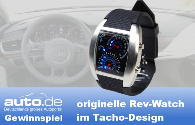 auto.de-Gewinnspiel: Die originelle Rev Watch für Autoliebhaber