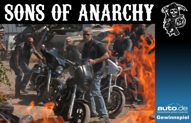 auto.de-Gewinnspiel: Drugs, Bikes and Rock'n Roll: »Sons of Anarchy« geht weiter!