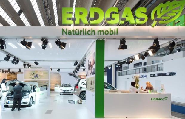 erdgas mobil präsentiert Neuheiten auf der IAA