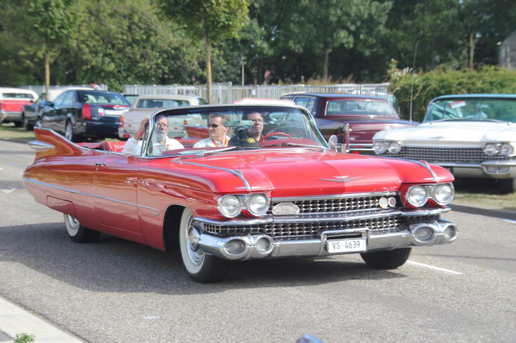 110 Cadillac zog es in die Niederlande