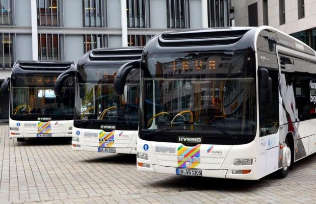 200 MAN-Hybrid-Stadtbusse in europäischen Städten