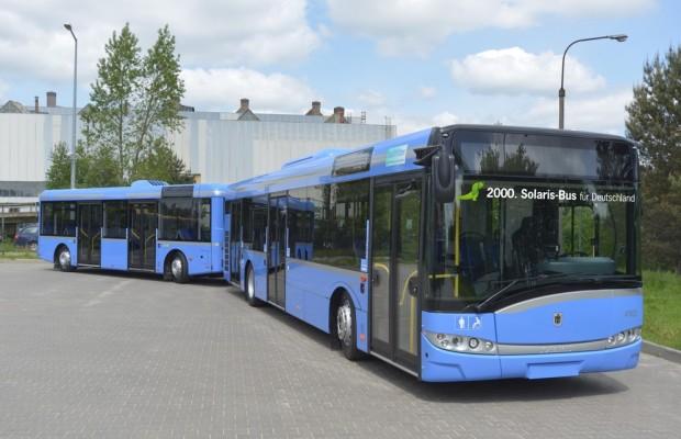 2000ster Solaris für Deutschland