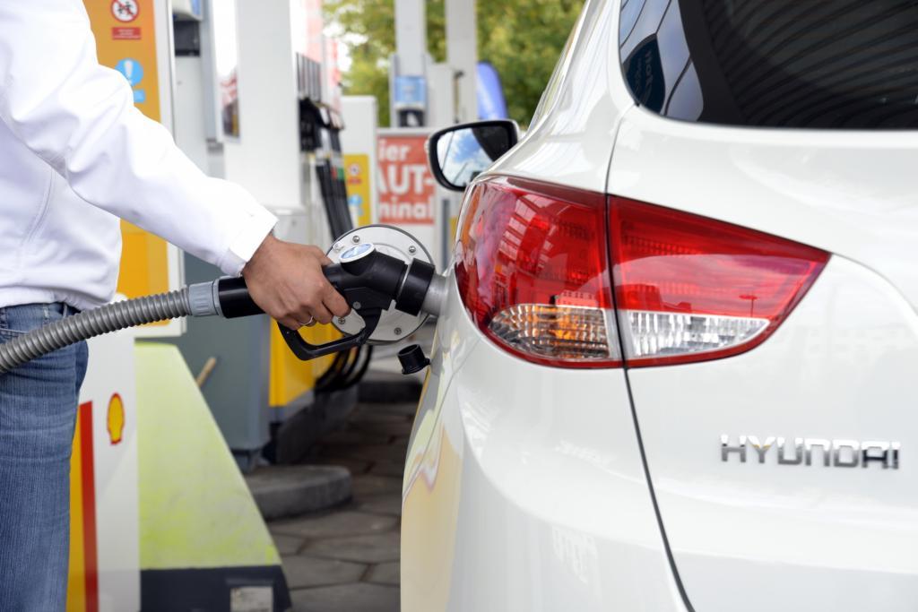 Aktuell gibt es in Deutschland gerade 15 H2-Tankstellen