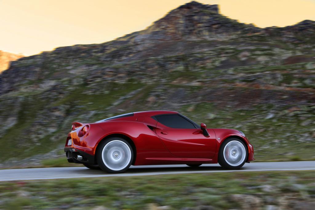 Alfa Romeo 4C - Für die italienischen Momente