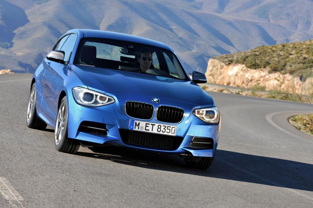 Auch BMW hat mit dem M135i ein kompaktes Kraftpaket im Stall