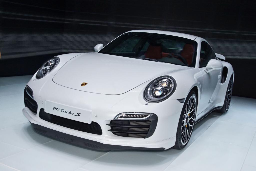 Auch den 911 Turbo S hat Porsche im Programm