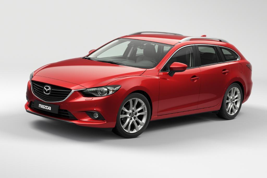 Auch der Mazda 6 bekam fünf Sterne