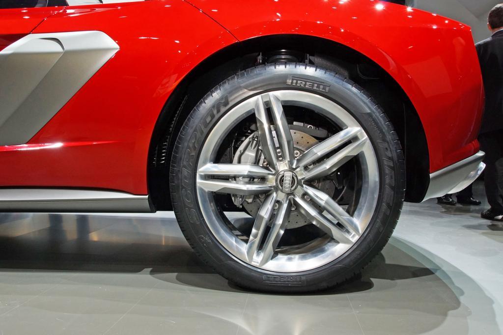 Audi Nanuk mit mächtigen Rädern