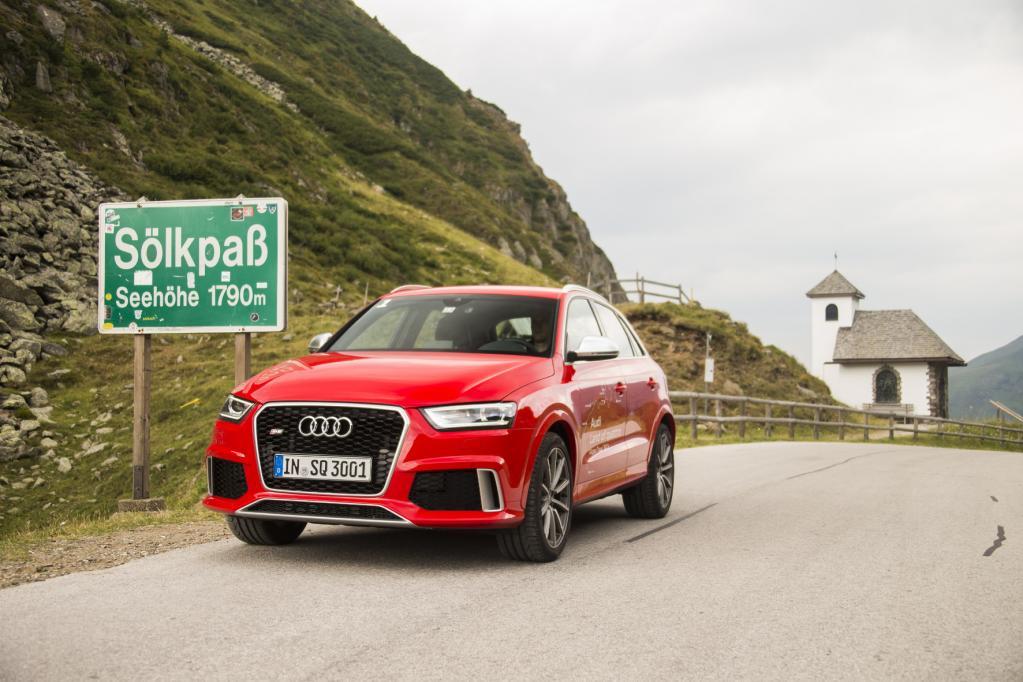 Audi RS Q3: Der Berg ruft