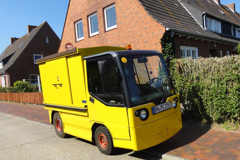 Auf Langeoog fahren fast alle Autos elektrisch