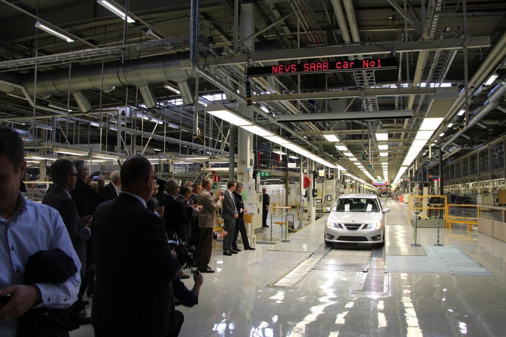 Bei Saab werden wieder Autos gebaut