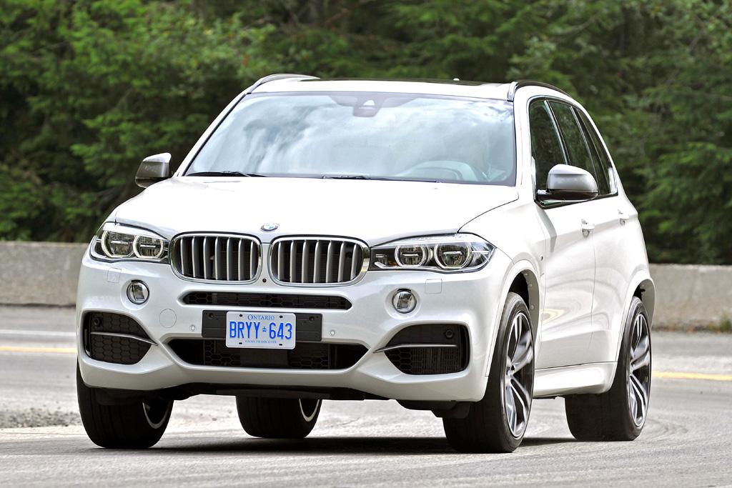 Beim BMW X5 handelt es sich um die dritten Generation. Foto: Koch