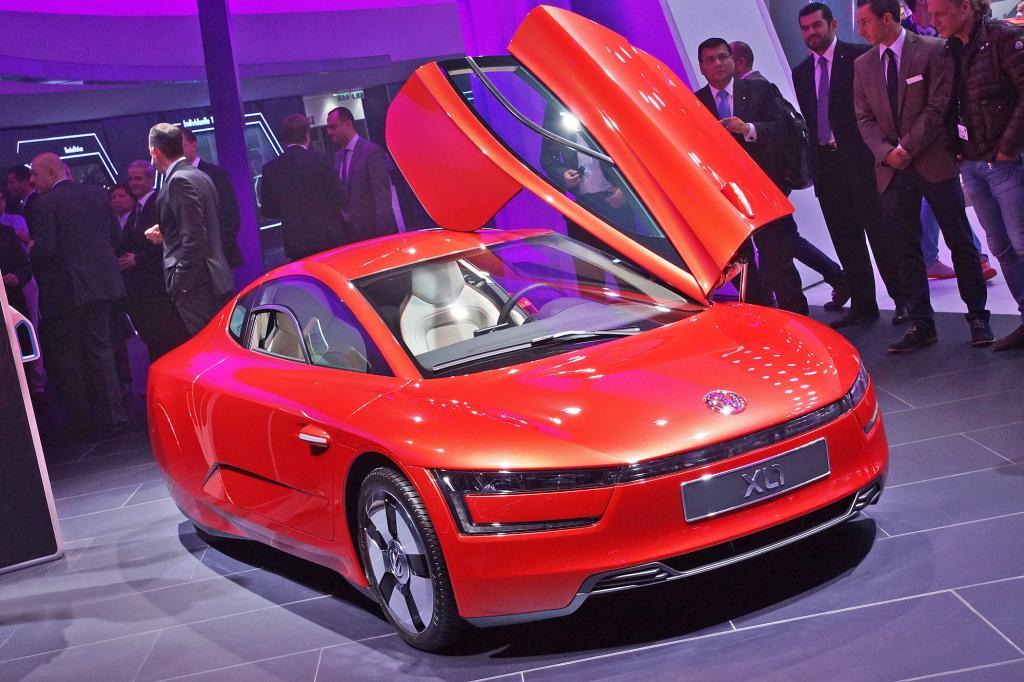 Beim VW XL1 gehen geringes Gewicht und geringer Luftwiderstand Hand in Hand