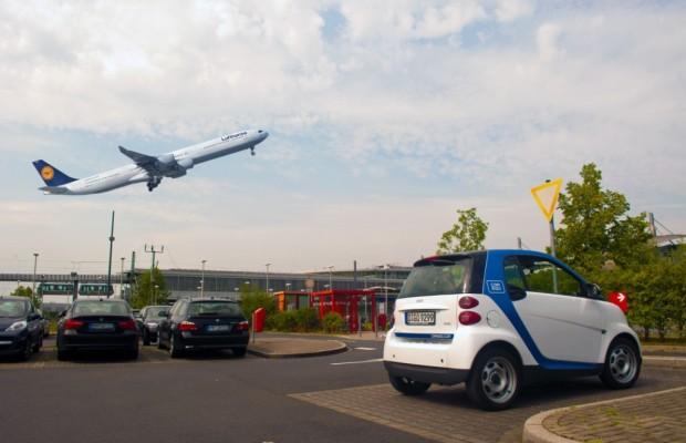 Car2go erweitert Flughafen-Angebot