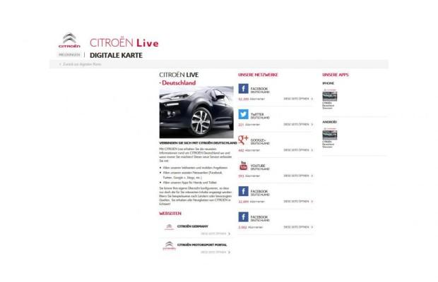 Citroen startet neues Webportal