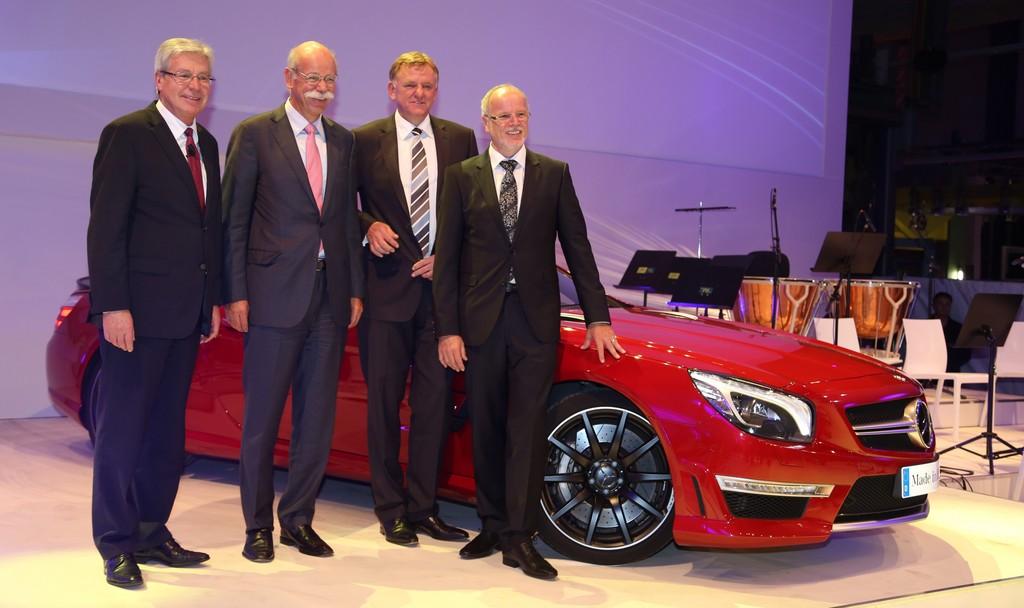 Daimler feiert Bremer Werksjubiläum
