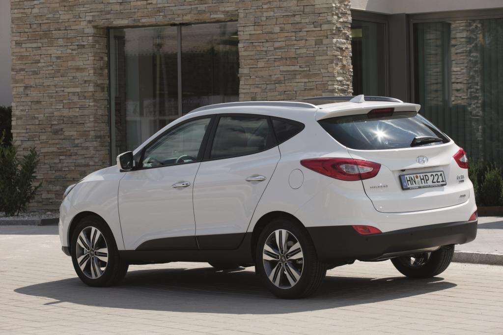 Das Kompakt-SUV ix35 zählt in Europa zu den meisterverkauften Hyundai-Modellen.