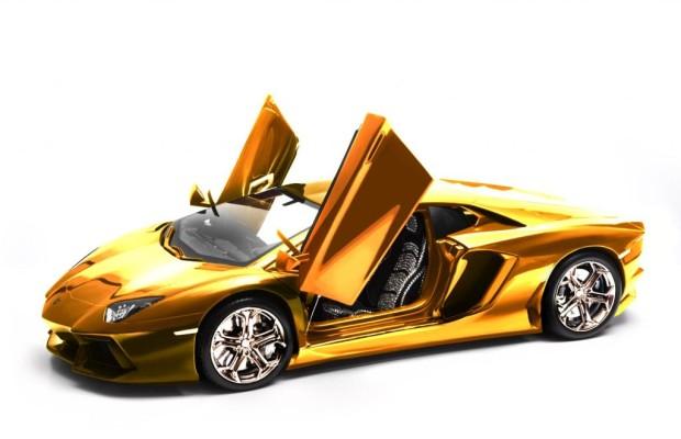 Das teuerste Modell-Auto der Welt -  Goldener Kampfstier