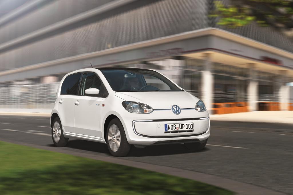 Den VW Up gibt es nun auch mit Elektromotor