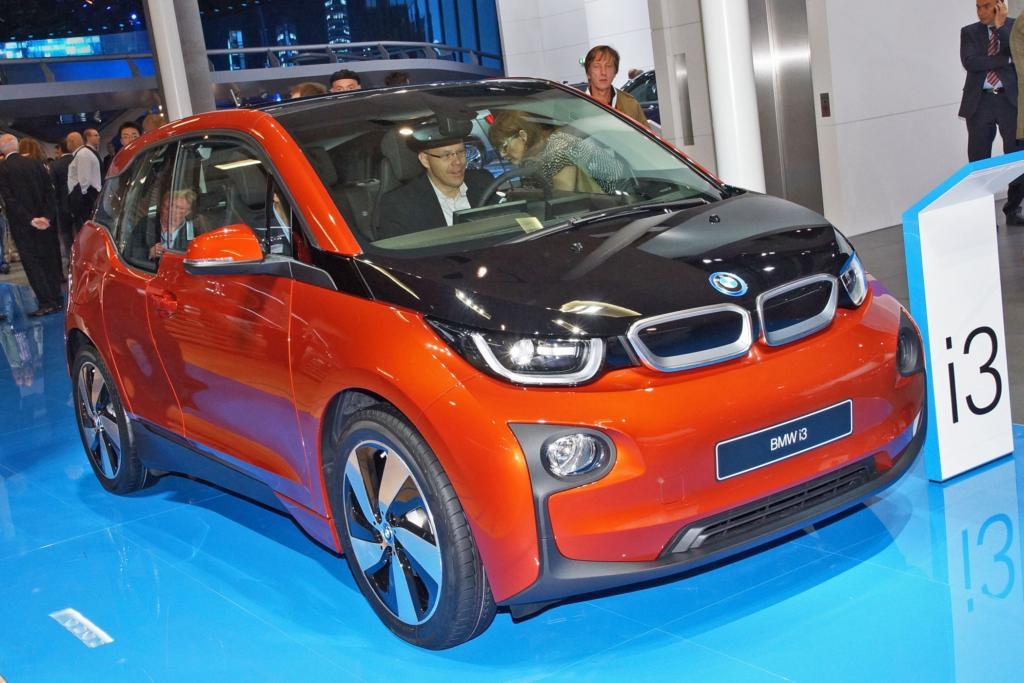 Der BMW i3 ist nicht besonders windschlüpfig, aber sehr leicht