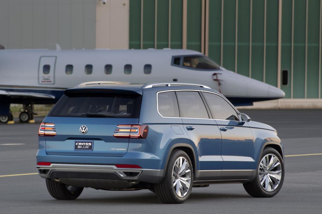 Der CrossBlue soll als trendige Alternative zum Minivan vor allem in Amerika und China punkten