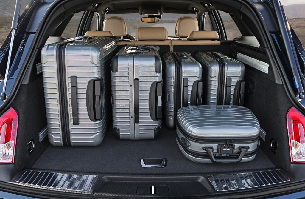 Der Kofferraum fasst 540 – 1.530 Liter