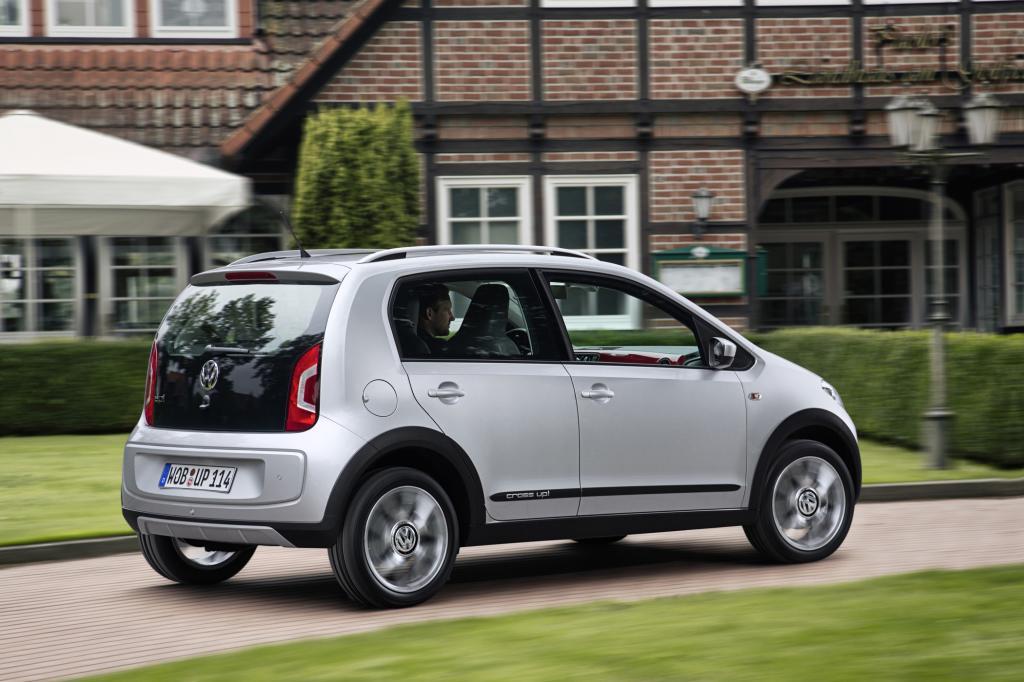"""Der Konzeptaufpreis des auf der Linie """"Move Up"""" basierenden Cross beträgt laut Volkswagen 730 Euro"""