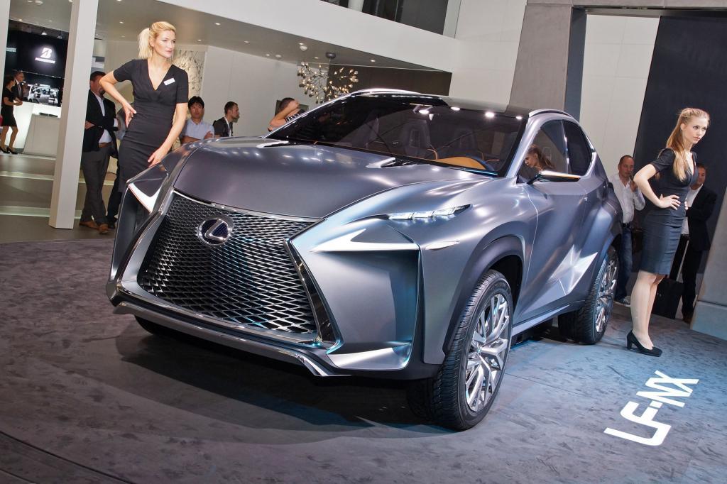 Der Lexus LF-NX soll kommendes Jahr in Serie gehen