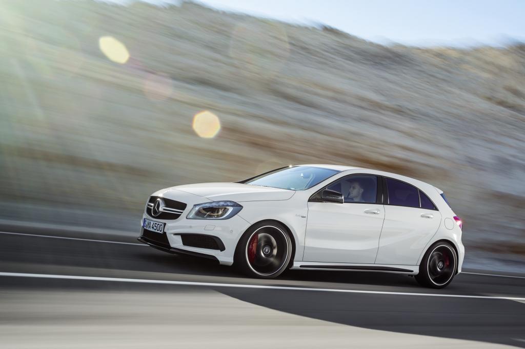 Der Mercedes A 45 AMG trägt aktuell die Leistungs-Krone