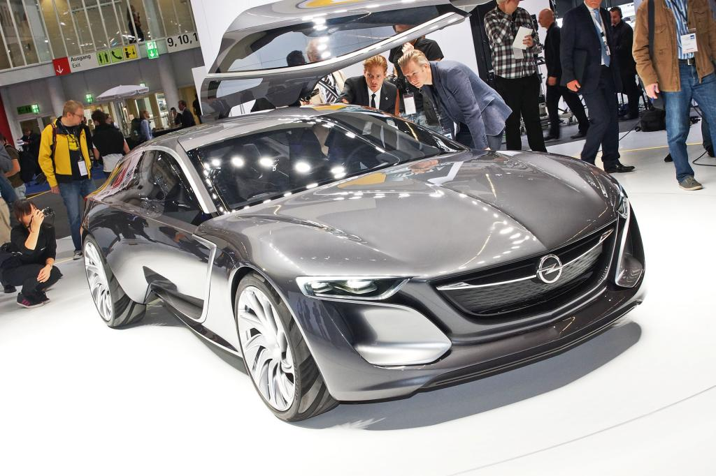 Der Opel Monza zählt zu den aufregendsten Studien in Frankfurt