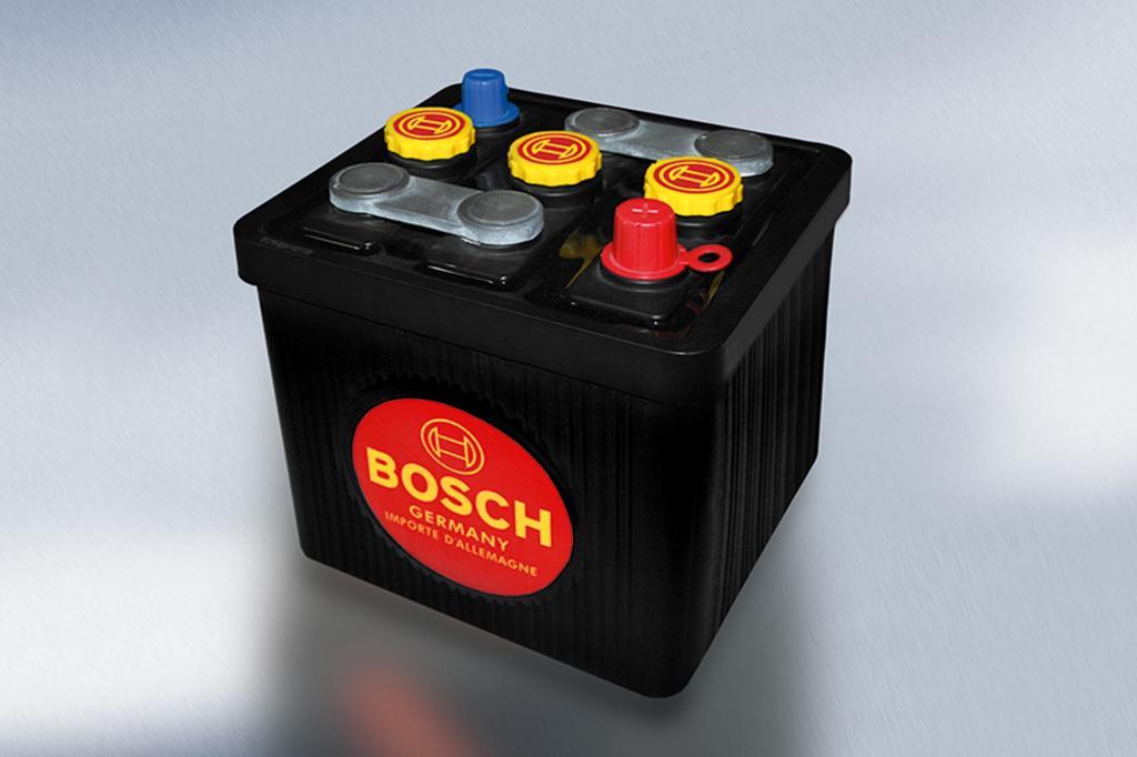 Die Oldtimer-Batterie setzt auf Retro-Look