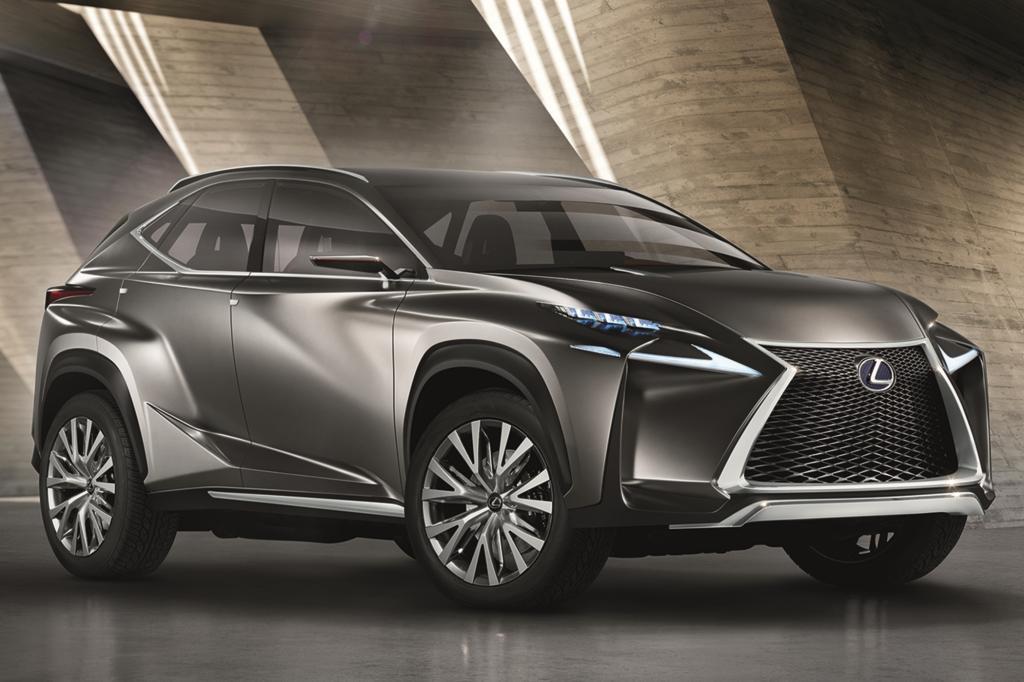 Die Toyota-Tochter zeigt in Frankfurt mit dem LF-NX die Studie eines kompakten SUV, das im Stile der Marke einen Hybridantrieb haben wird.