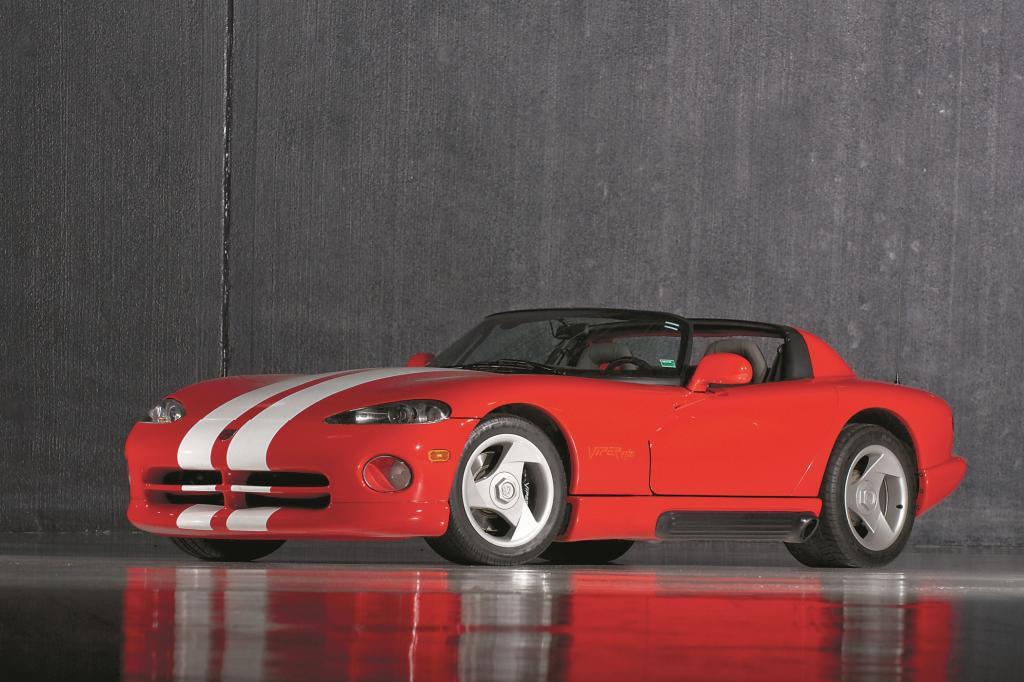Die Viper ist ein besonders bissiger Sportwagen
