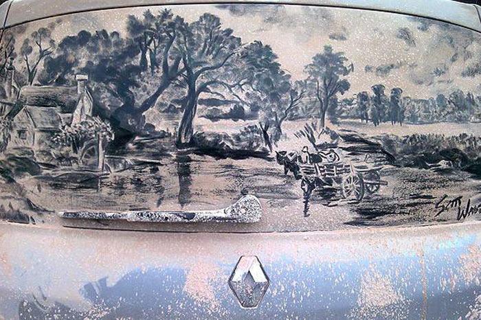 Dirty Car Art - Die Kunst aus Staub