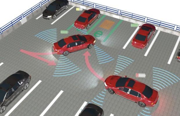 E-Auto-Projekt: Selbstständig im Parkhaus laden