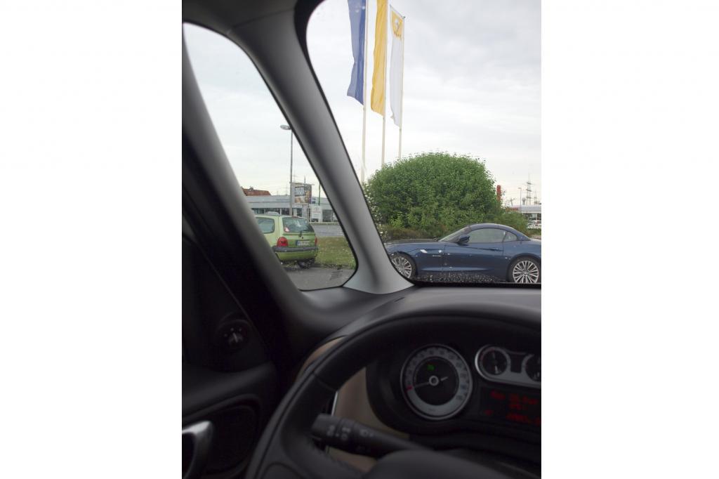 Extra-Fensterchen sorgen links und rechts vorn für einen guten Ausblick