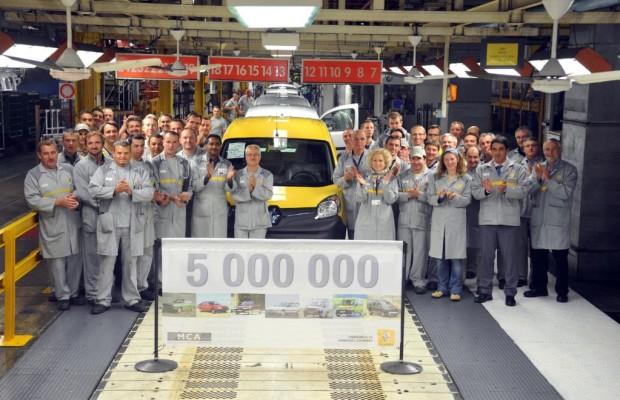 Fünf Millionen Renault aus Maubeuge