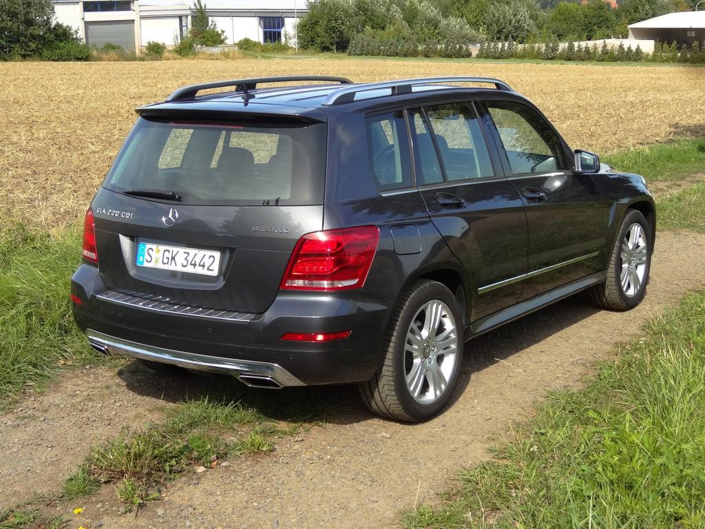 Fahrbericht Mercedes-Benz GLK 220 CDI 4Matic: Charakterkopf