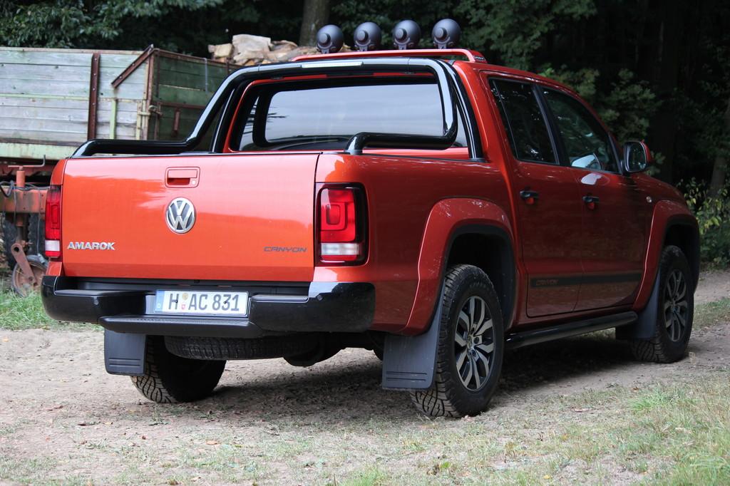 Fahrbericht VW Amarok Canyon: Freizeitcowboy