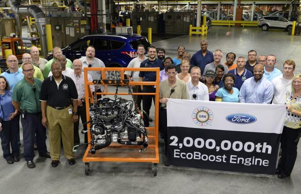 Ford: Zwei Millionen Eco-Boost Motoren