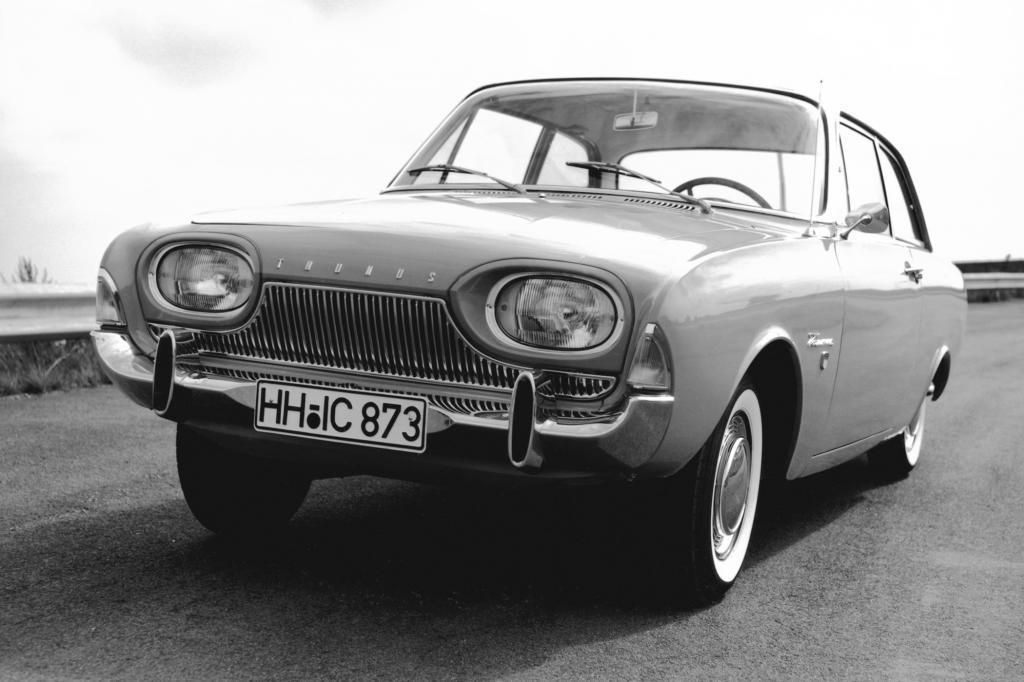 Ford bot den Taunus 17M P3 damals als Einstiegsmodell (zweitürige Limousine) für unter 6.700 Mark an