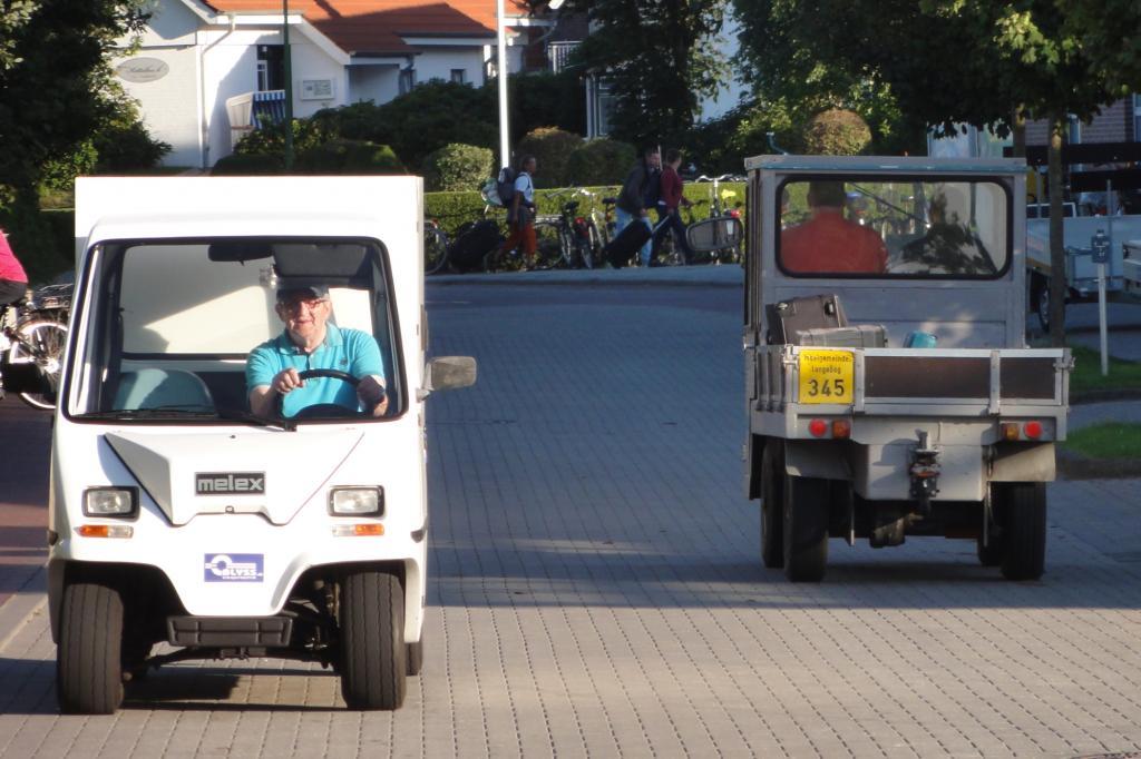 Gäste dürfen auf der Insel nicht mit dem Auto fahren