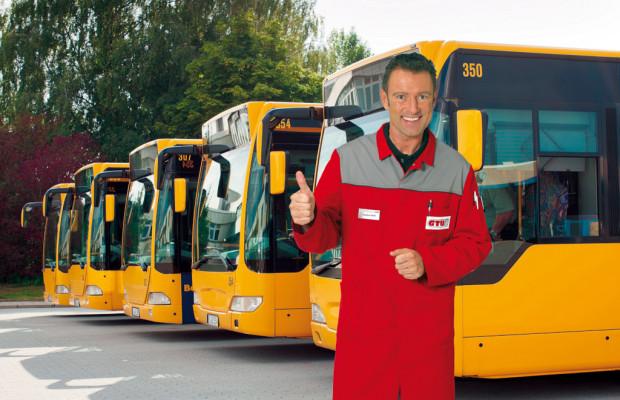 GTÜ prüft Schulbusse