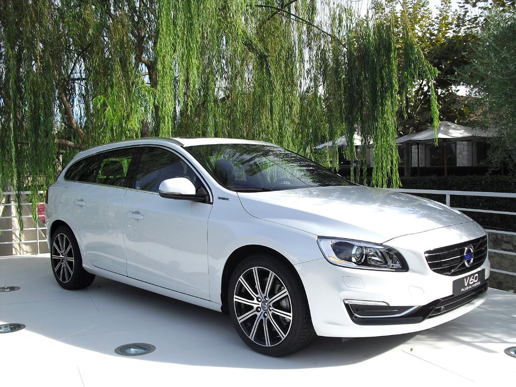 Geeignet auch für Elektrifizierung: Volvo V60 Plug-in-Hybrid.