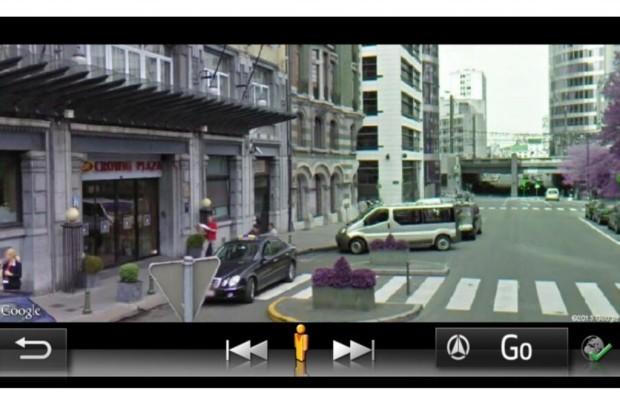 Google Streetview - Zielfoto von Toyota