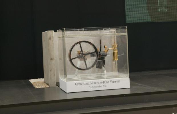 Grundsteinlegung des MB-Museums jährt sich