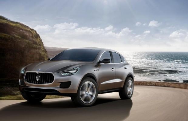 Heimlösung für die Produktion des neuen Maserati Levante