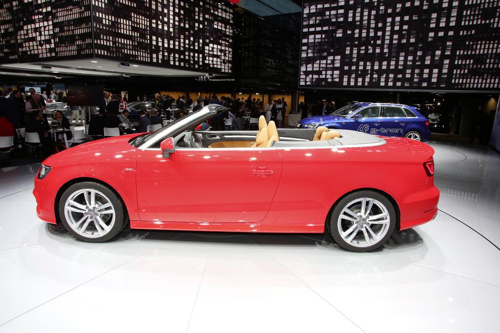 IAA 2013: Audi A3 öffnet sich in 18 Sekunden