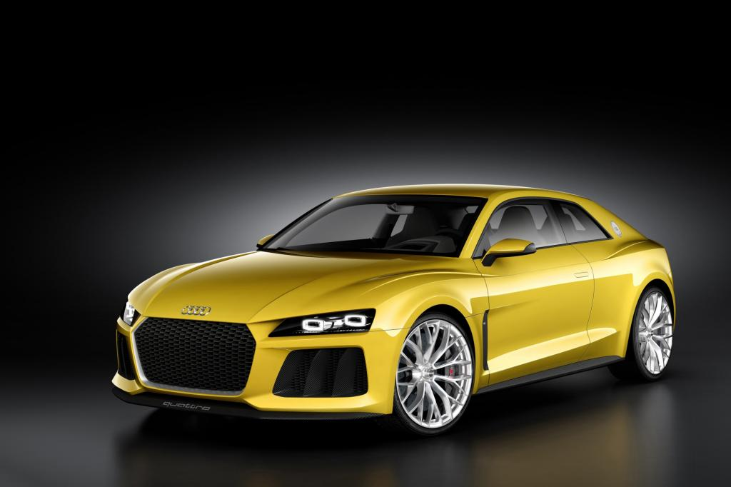 IAA 2013: Audi Sport Quattro Concept - Comeback für eine Legende