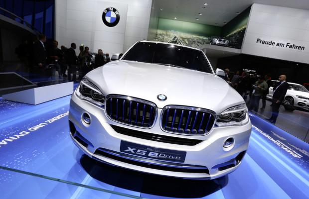 IAA 2013: BMW drückt Verbrauch des X5 auf unter vier Liter